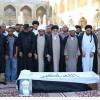 Irak'ta Şehid Düşen Alim Şeyh Haydar El Amiri'nin Cenazesi Toprağa Verildi