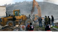 Siyonist İsrail Güçleri, Kudüs'te İş Yerlerini Yıktı