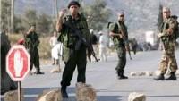 İşgal Güçleri El-Halil'de Filistinli Gençlerle Çatışma Tatbikatı Yapıyor.