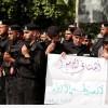 Foto: Filistin güvenlik güçleri, IŞİD Teröristlerine Meydan Okudu