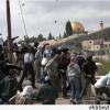 Kudüs'ün Et-Tur Mahallesinde Korsan İsrail Güçleriyle Filistinli Gençler Çatıştı