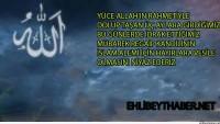 Tüm İslam Aleminin Regaip Kandili Mübarek Olsun