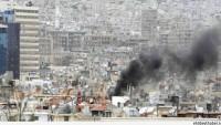 Teröristlerin Şam'a Düzenlediği Havan Saldırısı Sonucunda 6 Sivil Yaralandı