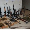 Haseke'de Türk Malı Silahlar Yakalandı