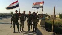 Suriye Ordusunun Yurt Genelinde Teröristlere Karşı Başarılı Operasyonları Sürüyor.