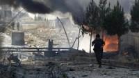 Siyonist Suudi Amerika savaş uçakları Sana'yı bombalamaya devam ediyor