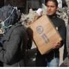 Yermük'te Teröristlerden Kaçan Ailelere Yardım Dağıtıldı
