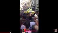 Video: Hizbullah Şehidi Muhammed Rida Zrakkat'in Cenaze Töreni