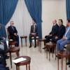 Suriye Cumhurbaşkanı Beşar Esad, Alaaddin Burucerdi'yi Kabul Etti