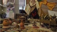 Lübnan'ın Sayda kentinde, 2'inci Filistin Kültür Mirası Sergisi açıldı