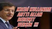 Türkiye Cumhurbaşkanından Sonra Türkiye Başbakanı da Halkı Faiz Batağına Sokmakla Övündü