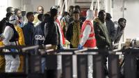 800 göçmenle batan teknenin yeri tespit edindi