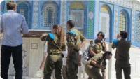 53 Siyonist İsrail Askeri Bu Sabah Mescid-i Aksa'ya Baskın Düzenledi