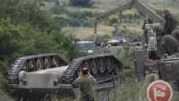 Golan'da Siyonist İsrail'e Ait Zırhlı Bir Araç Devrildi: 4 Siyonist Asker Ağır Yaralı
