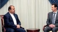 İran Kalkınma ve Ekonomik İlişkiler Komitesi Başkanı Rustem Kasımi, Suriye'ye Gitti