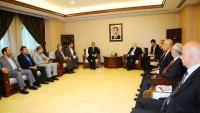 Alaaddin Burucerdi, Suriye Dışişleri Bakanı İle Görüştü