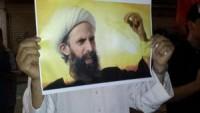 Bahreyn ve Arabistan Halkları, Şeyh Nemr'e Destek Gösterisi Düzenledi
