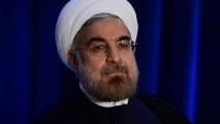 İran Cumhurbaşkanı Ruhani: İnsanlar maalesef Cuma namazında namaz halindeyken İslam adı altında param parça edildiler