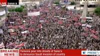 Yemen Halkının Gösterileri Sürüyor