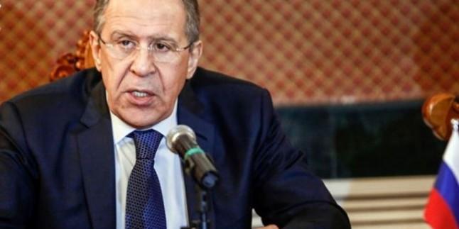 Lavrof: Terör grupları İran'ı başlıca düşmanları biliyorlar