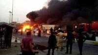 Irak'ın Başkenti Bağdat Patlamalarla Sarsıldı: 10 Şehid, 30 Yaralı