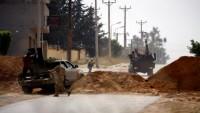 Libya UMH kuvvetleri Trablus havalimanına girdi