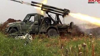 Suriye ordusu teröristlerin iki yoğun saldırısını püskürttü