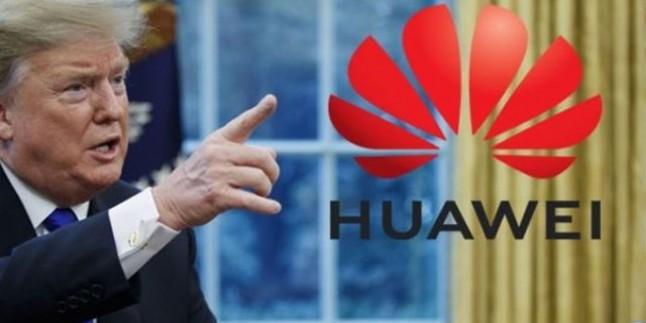 Trump'tan casuslukla suçladığı Huawei kararında geri adım