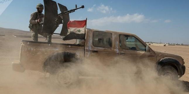 Suriye'nin Irak sınırlarında operasyon başladı