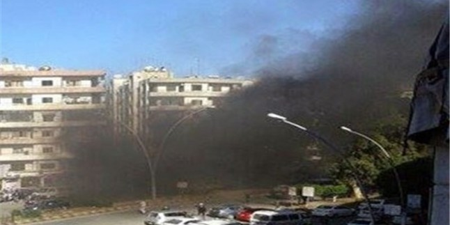 Suriye'de Hama'ya teröristlerden roketi saldırıları