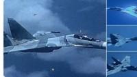 Venezuela Ordusuna Ait Rus Yapımı Su-30 Savaş Uçağı ABD Uçağını Önledi