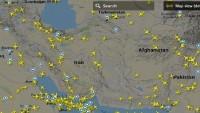 İran hava sahasından günde 840 uçak geçiyor