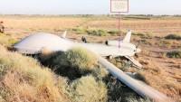 Irak'ın Kuzeybatısında Büyük Şeytan ABD'ye Ait Son Model İHA Düşürüldü