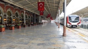 Tahran-Ankara treni ilk seferine başladı