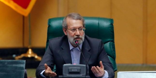 Laricani: İngiltere İran'ın iktitarı karşısında geri adım attı