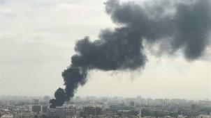 Teröristlerden Halep'e havantopu saldırısı