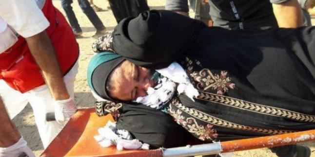 Gazze Şeridi sakinleri Büyük Dönüş Yürüyüşü 70'nci haftasında da gösteri düzelendi