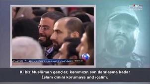 Şehid İmad Muğniye'nin Kızı Fatıma'nın İmam Ali Hameney'in huzurundaki konuşması