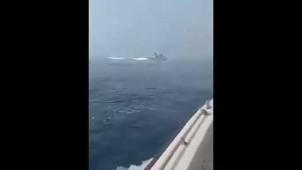İngiliz Fırkateyni, İran Deniz Kuvvetleri tarafından Enselendi