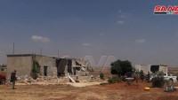 Suriye Ordusu El Erbain ve El Zekat Köylerini Tamamen Kontrolüne Geçirdi