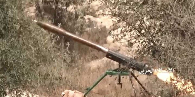 Yemen Hizbullahı Suud Güçlerine Ait Askeri Bir Üssü 7 Adet Zilzal-1 Füzesiyle Vurdu