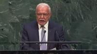 Riyad Maliki, Siyonist rejime yaptırım uygulanmasını istedi