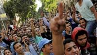 Mısır devleti aleyhinde gösteriler Mısır'ın çeşitli şehirlerine yayıldı