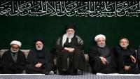 İslam İnkılabı Rehberinin huzurunda İmam Hüseyin -as- matem merasimleri