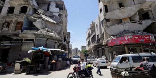 İdlib'de İnsani Koridor Açıldı