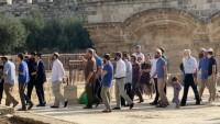Yahudi Yerleşimci Mescid-i Aksa'ya Baskın Düzenledi