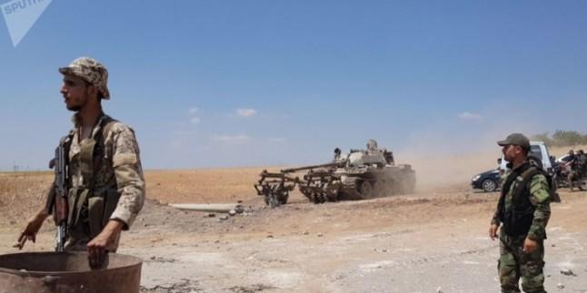 Suriye Ordusundan Teröristlere Darbe