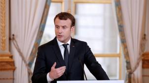 Macron AB'den Türkiye'ye silah ihracatının durdurulmasını istedi