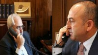 Zarif ve Çavuşoğlu Suriye gündemini görüştüler