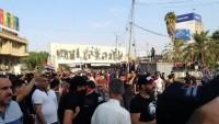 Irak'taki protesto gösterilerinde 1 ölü onlarca yaralı